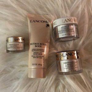 Lancôme skin care 💛